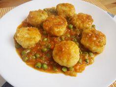 Te encantarán las albóndigas de merluza en salsa del blog ALEGRÍA EN LA COCINA.