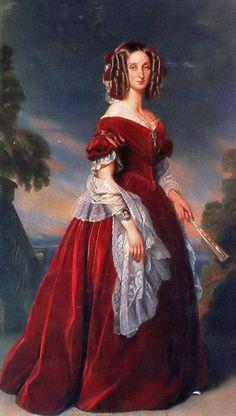 Louise Marie d'Orléans 1841