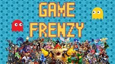 Game Frenzy  One of the fastest growing industries in the world is that of video games. Take this challenge to your youth with a trivia screen game. Who is the game master among your students? Play this game head to head, or as a large group.