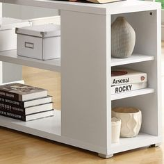 Monarch Specialties Hollow-Core Left or Right Facing Corner Desk, White White L Shaped Desk, Work Surface, Baby Bedroom, Filing Cabinet, Home Kitchens, Contemporary Design, Corner Desk, Printer, Drawers