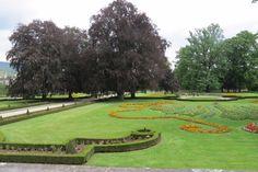 The Castle Garden - Cesky Krumlov, Czech Republic