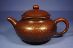 Chinese antique Yixing tea pot with lid