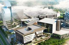 "New South African office building implements ""Green Leases"" Sustainable City, Green Architecture, Smart City, Commercial Real Estate, Urban Planning, Green Building, Office Interiors, Sustainability, New York City"