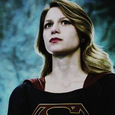 """Melissa Benoist as Supergirl The second episode, CBS's calls it, """"Stronger Together""""."""