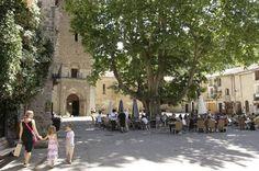 Centrale plein van Saint Guilhem le Désert