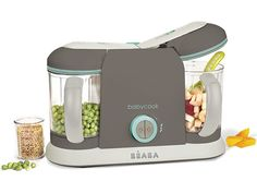 Step by step on How I use my Beaba baby cook machine to make homemade baby food my baby actually likes. Baby Food Makers, Best Baby Food Maker, Latte, Baby Cooking, Baby Gadgets, Blender Recipes, Homemade Baby Foods, Homemade Toys, Baby Health