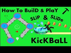 How to build and play SLip and slide kickball! DIY - YouTube