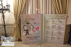 Un Tableau de #Mariage molto originale: un passaporto con #caricatura degli #sposi riprodotto in dimensioni giganti. Un'#idea nuova se non avete ancora pensato al vostro #tableau #personalizzato con #caricatura. #caricaturista www.paolapaolino.it