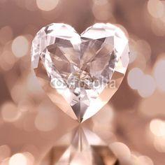 diamond shaped heart
