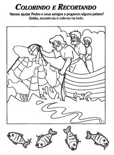 Desenhos para colorir e pintar: A vida de Jesus