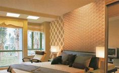 Interior wall design gallery has more than 200 project images / photos, including living room wall design, bedroom wall design, dining room wall design. Mdf Wall Panels, 3d Panels, Decorative Wall Panels, 3d Wandplatten, Living Room Wall Designs, Interior Design Gallery, Dining Room Walls, Loft Design, Ceiling Decor