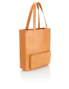 Natural Leather Tote Bag | A.P.C.