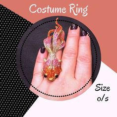 • Crystal Fish Ring Orange, Pink and Red • Crystal fish ring • Stretch band, one size fits most • Worn but in excellent condition! No rips, stains, holes or other damages • All items come from a pet & smoke free home • My prices fluctuate from time to time so catch items when prices are low • I accept REASONABLE offers and I discount bundles • Not interested in trading or selling items off PoshMark, please don't ask • ✌🏼️❤️🛍 Jewelry Rings