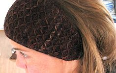Headband in sport weight pattern