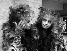 Elaine Paige as Grizabella. Original costume for musical when it opened in London. The DVD costume done years later is much different.