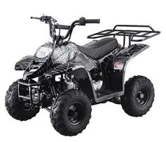 410BXR Youth Mini ATV   For the Spiderman fan who prefers wheels.  #ATV #UTV #4Wheeler #offroad