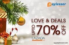 Christmas love Deals-Shop Christmas gifts for your friends and special one or save up to 70% on purchasing. #lazada #Offer #paylesser  Why pay more?