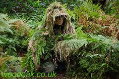 Autumn is here already on the Sniper Experience at Woodoak Wilderness, Surrey, England UK www.woodoak.co.uk