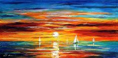 Touch Of Horizon 2 Palette Knife Seascape #art #painting @EtsyMktgTool #horizon #horizonpainting #paletteknife #seascape #seascapepainting