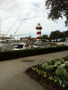 Hilton Head Island | Sea Pines Plantation Lighthouse | lived here for over 7 years