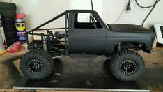 Rc Cars And Trucks, Rc Rock Crawler, Metal Fab, Remote Control Cars, Toyota Hilux, Plans, Scale Models, Offroad, Mud