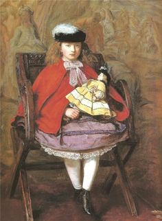 John Everett Millais - Girl with a Doll