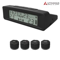 (69.81$)  Buy here - http://aijxw.worlditems.win/all/product.php?id=32705956161 - High quality Universal Auto Car TPMS Solar Power External sensor LCD Digital Tire Pressure Monitoring System with 4 Sensors