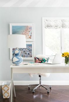 Office space inspiration | theglitterguide.com