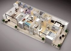 Three Bedroom House Design | Small House Layout | Pinterest | Bedrooms,  Third And Bedroom Apartment