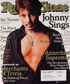 Jake Gyllenhaal, Rolling Stone Magazine Subscription, Rolling Stone Magazine Cover, Ike Turner, Here's Johnny, Johnny Depp Movies, Johny Depp, Sheryl Crow, Sr1