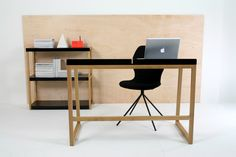 The chair Fabulous Felty, bookshelf Cubanova and the Cubanavo desk. All items are available in multiple colors!