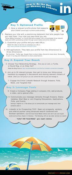 The LinkedIn Profile Social Media Infographics Pinterest