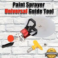 Shop OFF Paint Sprayer Universal Guide Set) - Household Tools - Paint Home Construction Tools, Diy Home Repair, Painting Tools, Painting Hacks, Cool Inventions, Home Repairs, Useful Life Hacks, Diy Home Improvement, Cool Gadgets
