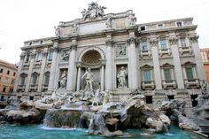 Rome- My brother and I started our Italy journey here.  The hostel was booked for 2 nights but we weren't coming back for a week.  We went where the wind took us with a little faith in tossing a coin into the Trevi fountain.