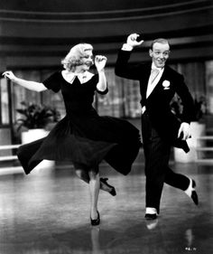 z- Fred Astaire & Ginger Rogers- 'Swing Time', 1936