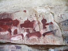 South Africa Rock Art Paintings