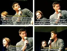 "I can't right now. This is just too adorable. I mean, ""Uncle Jensen""?? HOW CUTE."