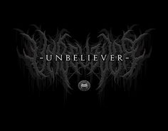 "Check out new work on my @Behance portfolio: ""UNBELIEVER"" http://be.net/gallery/46846597/UNBELIEVER"