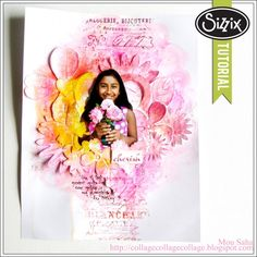 Sizzix Tutorial | Changing dimension by Mou Saha