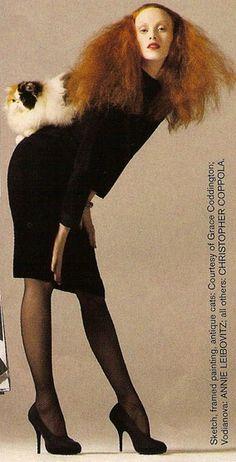 Karen Elson as Grace Coddington