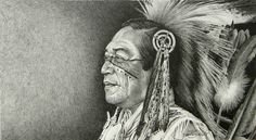 Ben, by Joe Belt  Pencil drawing of Native American dancer, Ben Lovejoy, by artist Joe Belt. I met Ben in Albany, Georgia, at the Chehaw National Indian Festival and Pow-Wow, back in the mid-90s. I thought he had that classic-look.