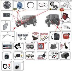 Interactive Diagram - Jeep Wrangler TJ Fuel Parts | Jeep TJ Parts ...