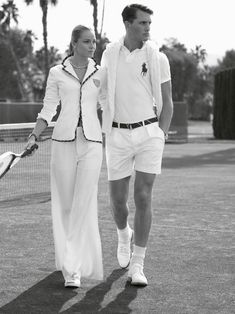 Polo Ralph Lauren was Wimbledon's official outfitter in 2006 and the first designer in the tournament's history to do so.