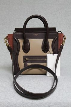 celine mini luggage price - This is an authentic CELINE Pony Calf Hair Tricolor Nano Luggage ...