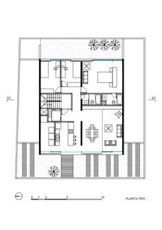 Jacobo Building,Typical Plan