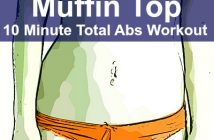 No More Muffin Top With This 10 Minutes Total Abs Workout