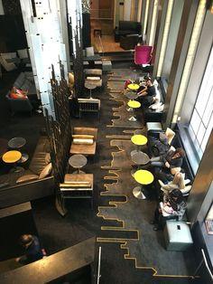Resultado de imagem para lounge library hotel interior design plan