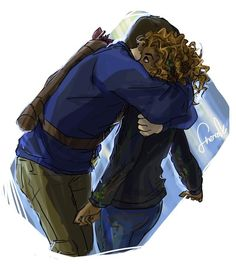 Frank Zhang and Hazel Levesque awww I never was a hard-core Frazel shipper, but this is adorable! #PJO