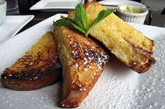 "French Toast  ""New research suggests including some protein-rich foods at breakfast can help keep you satisfied until lunch,"" Geurin says. ""Eggs are an excellent source of high-quality protein."" Dip two slices of whole-wheat bread in two beaten eggs and a splash of nonfat milk, allowing the bread to absorb the egg. For a sweet version, cook in melted Smart Balance or Earth Balance, or similar trans-fat-free spread and top with a drizzle of pure maple syrup. Or, switch it up and add salt and ..."