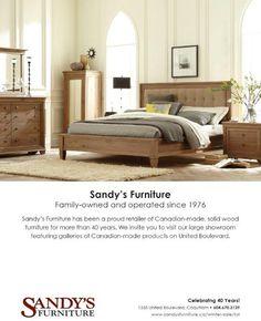 #sandysfurniture #canadianmade #solidwood #furniture #westbrosfurniture #odeoncollection @sandysfurniturebc